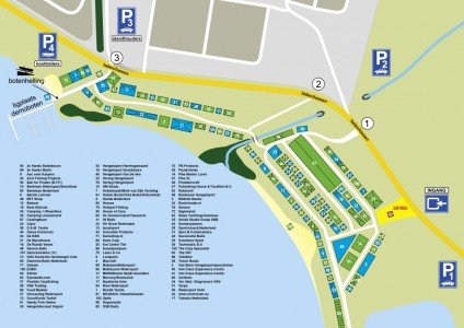 Plattegrond Hengelsport Outdoor Fair 2013